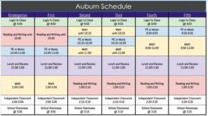 Auburn CDL Schedule