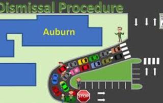 Map of Auburn Arrival Procedure